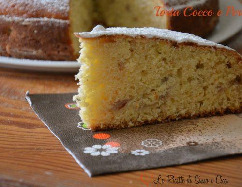 Torta Cocco e Pere
