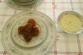 Polpette di Carne con Fonduta al Gorgonzola e Timo