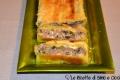 Plumcake di Carne, Radicchio e Provolone in Crosta di Sfoglia