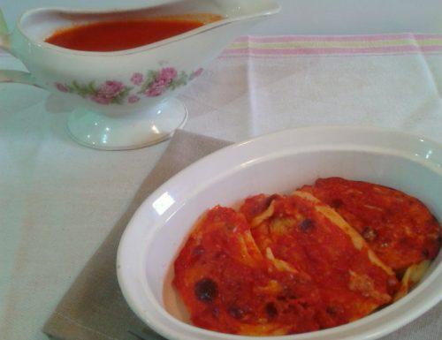 Rondelle di Pasta al Prosciutto Cotto e Mozzarella