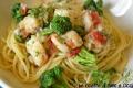 Spaghetti con Baccalà, Pomodorini e Broccoletti