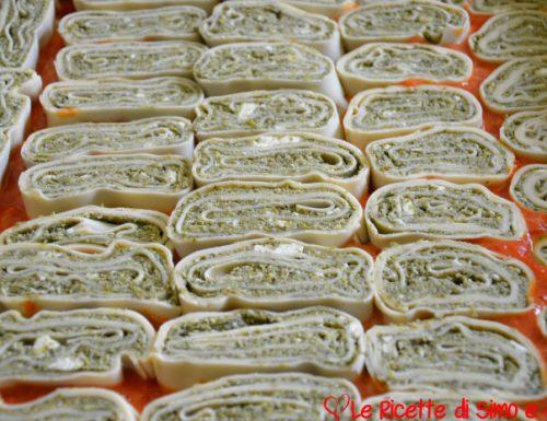 Rondelle di Pasta con Ricotta e Scarola