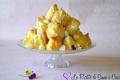 Profiteroles con Mousse al Limone
