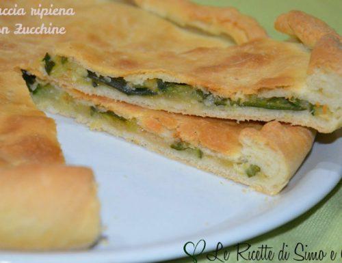 Focaccia Ripiena con Zucchine e Provolone