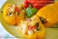 Peperoni ripieni di Pasta e Patate