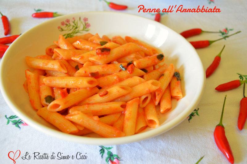 Penne All'Arrabbiata Con Panna Recipes — Dishmaps