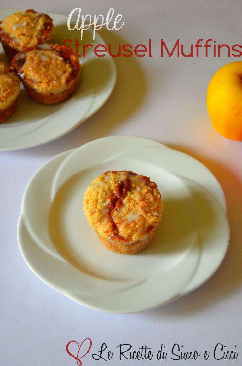 Apple Streusel Muffins - Muffins alle Mele