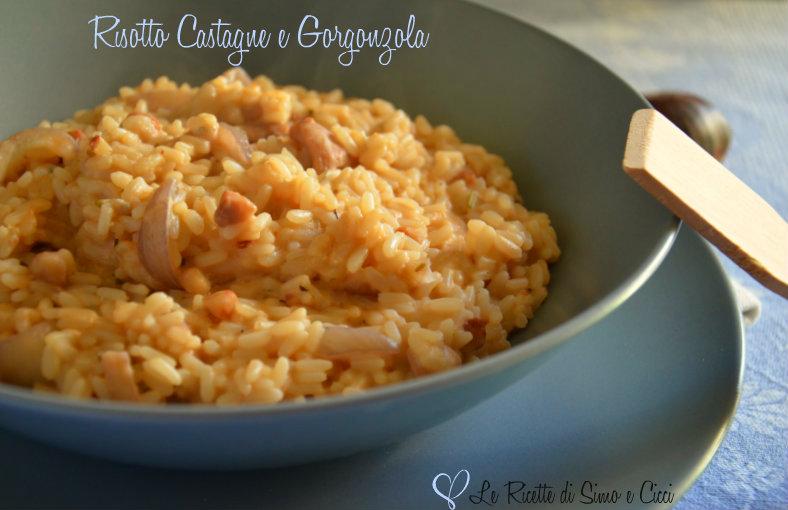 Risotto Castagne e Gorgonzola