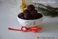 Tartufi di Castagne Cioccolato e Liquore all'Arancia