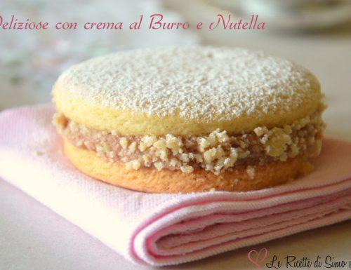 Deliziose con crema al Burro e Nutella