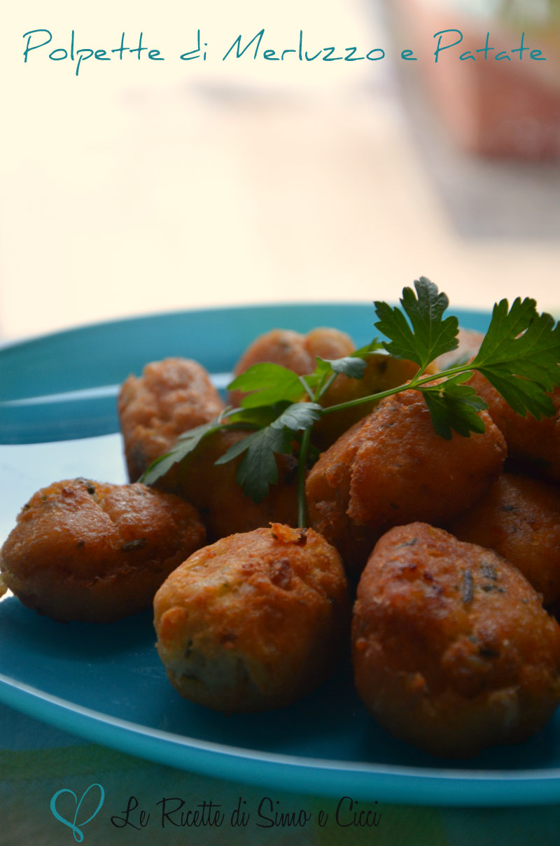 Polpette di Merluzzo e Patate