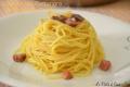 Spaghetti alla Carbonara di Prosciutto crudo