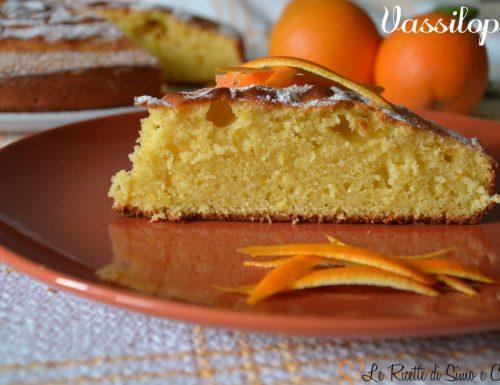 Vassilopita – Torta al succo d'Arancia senza latte