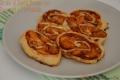 Girelle di Pasta Brisée con Peperoni e Mortadella