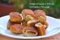 Rotolini di Pancarré fritti con Mortadella e Formaggio