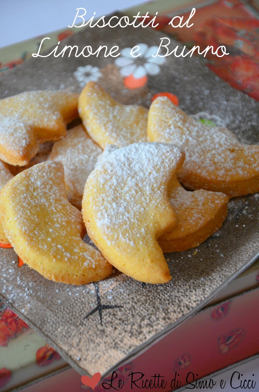 Biscotti al Limone e Burro