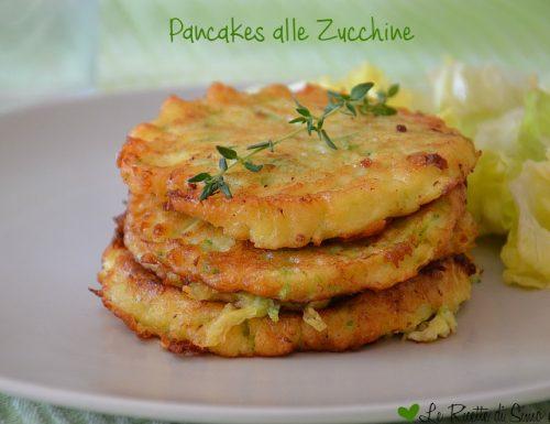 Pancakes alle Zucchine
