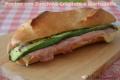 Panino con Zucchine Grigliate e Mortadella