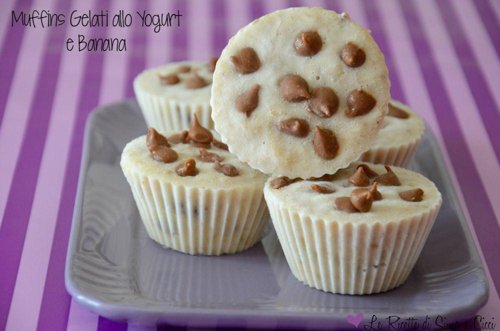 Muffins Gelati allo Yogurt e Banana