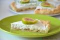 Torta fredda di Pasta Sfoglia con Ricotta e Fichi