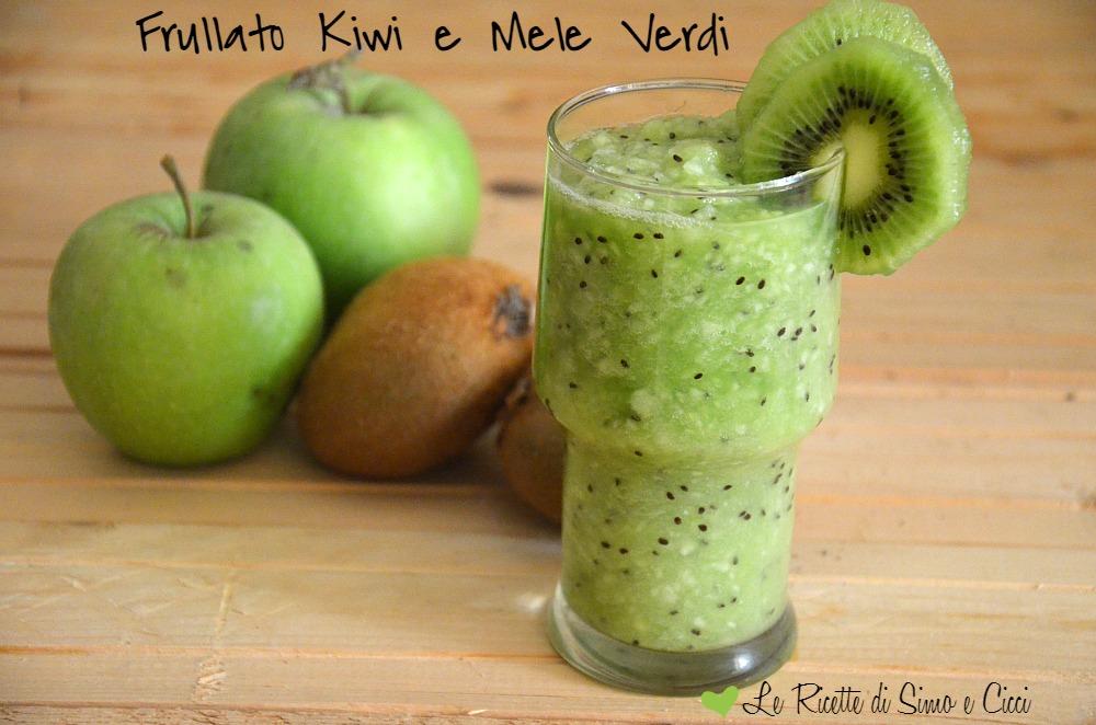 Frullato Kiwi e Mele Verdi