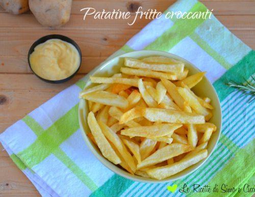 Patatine fritte croccanti