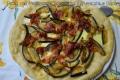 Pizza con Melanzane Scamorza affumicata e Bacon