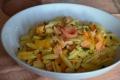 Gnocchetti sardi con zucca e salmone