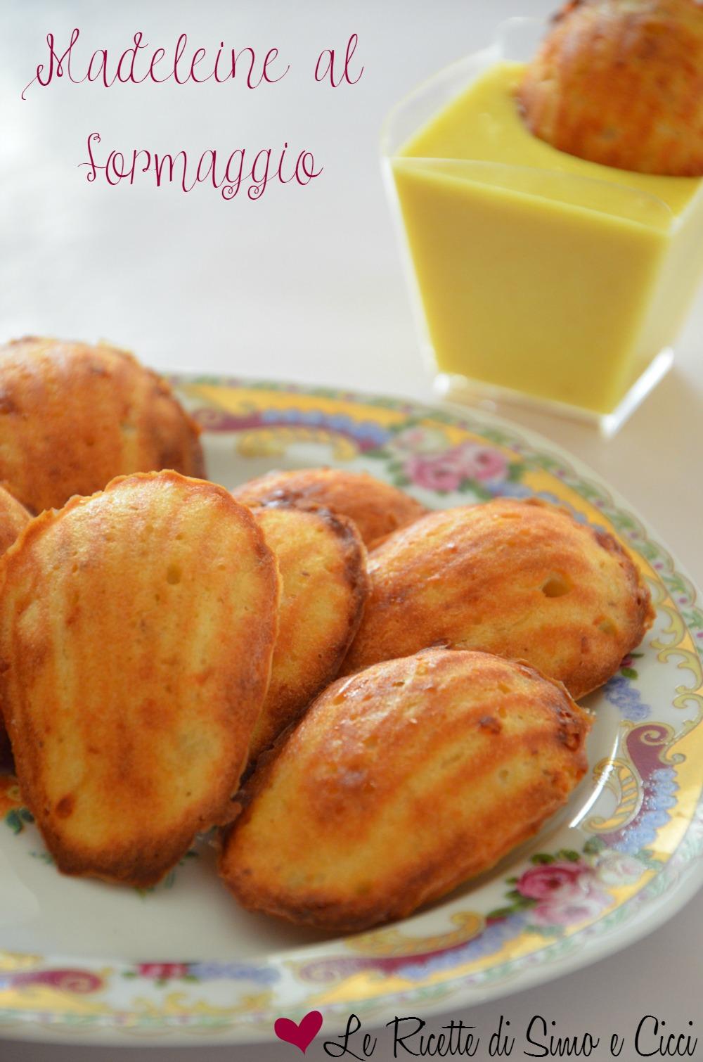 Madeleine al formaggio