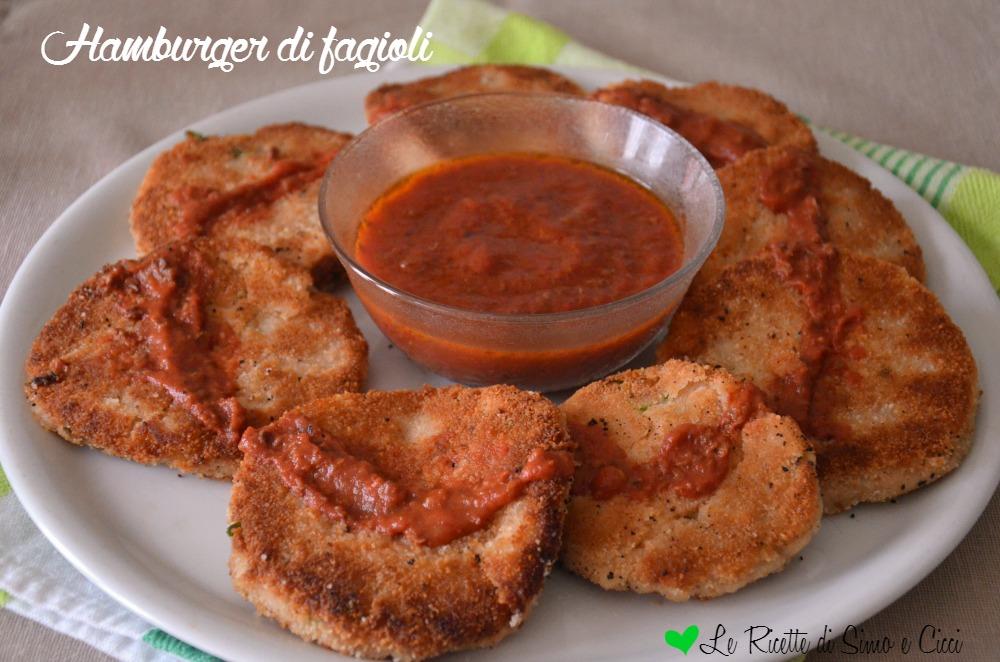 Hamburger di fagioli