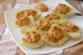 Finocchi ripieni gratinati con pomodori secchi e olive