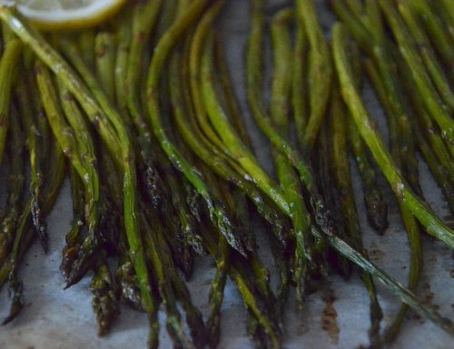 Asparagi al forno light