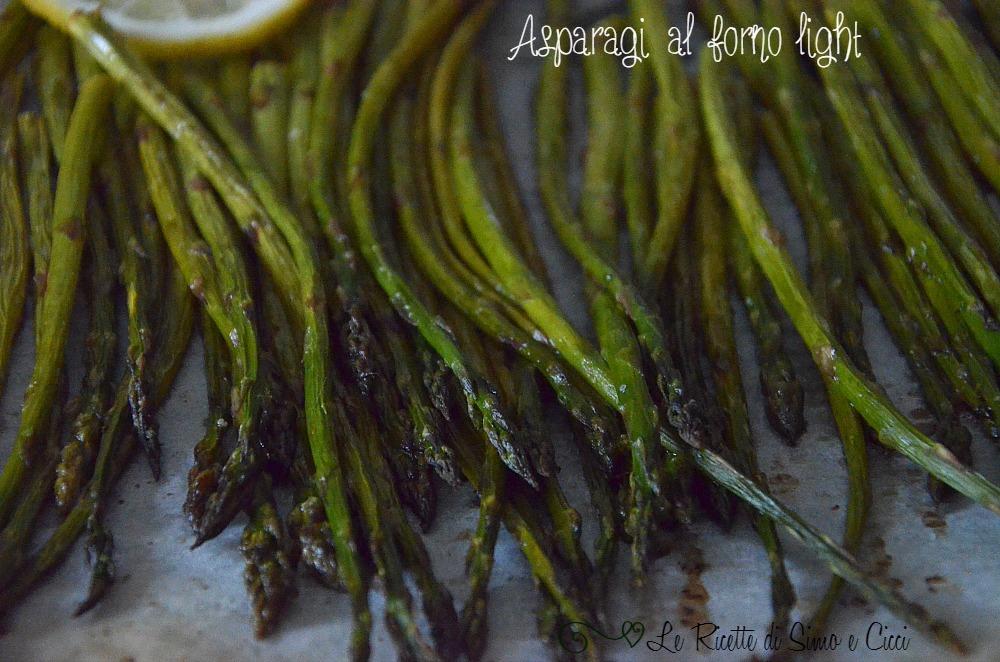 Asparagi al forno light