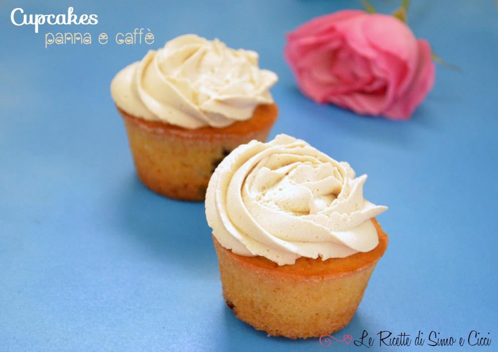 Cupcakes panna e caffé
