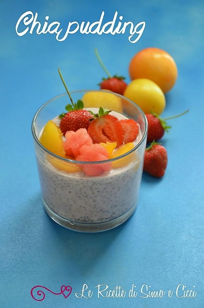 Chia pudding - Budino ai semi di chia
