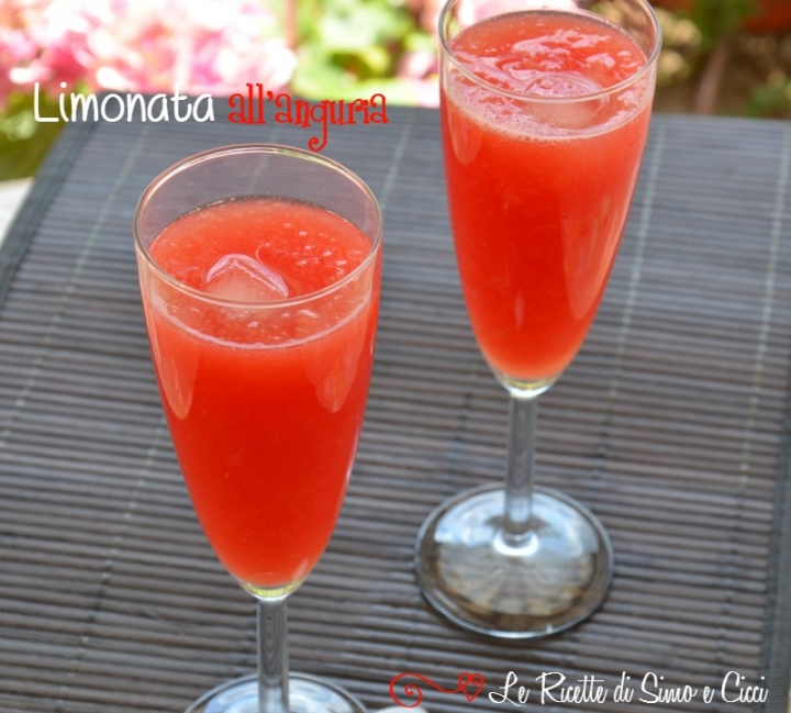 Limonata all'anguria
