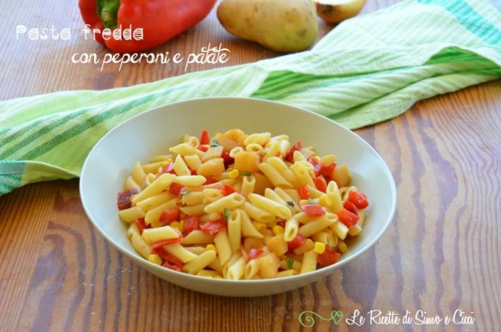 Pasta fredda con peperoni e patate