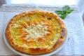Torta salata con fiori di zucca e ricotta