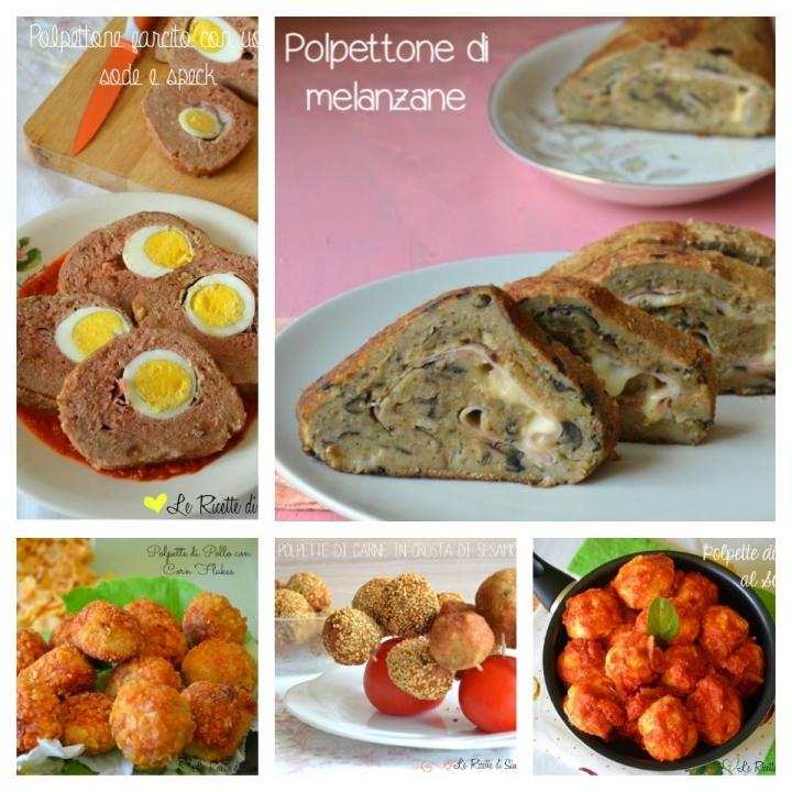 Raccolta di ricette di polpette e polpettoni