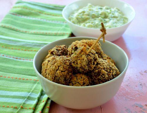 Polpette di quinoa e zucchine vegan al forno
