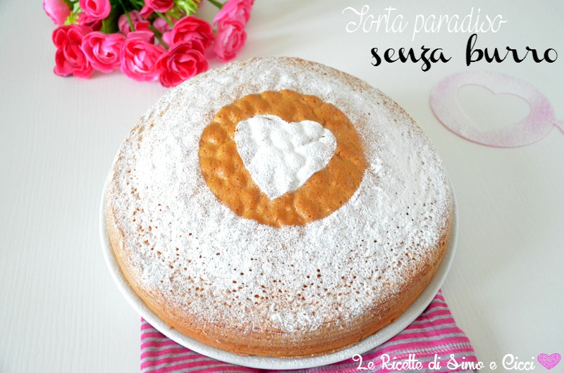 Torta Paradiso Senza Burro