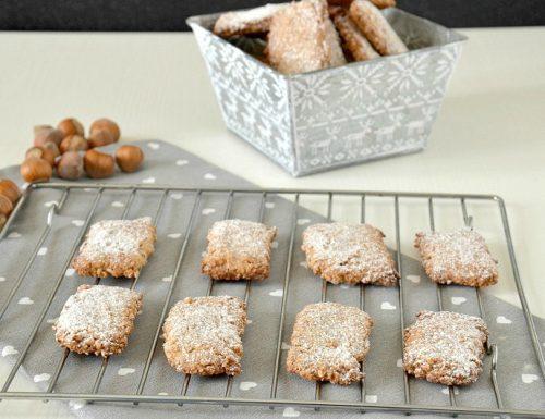 Biscotti alle nocciole senza glutine e lattosio (Parigini)