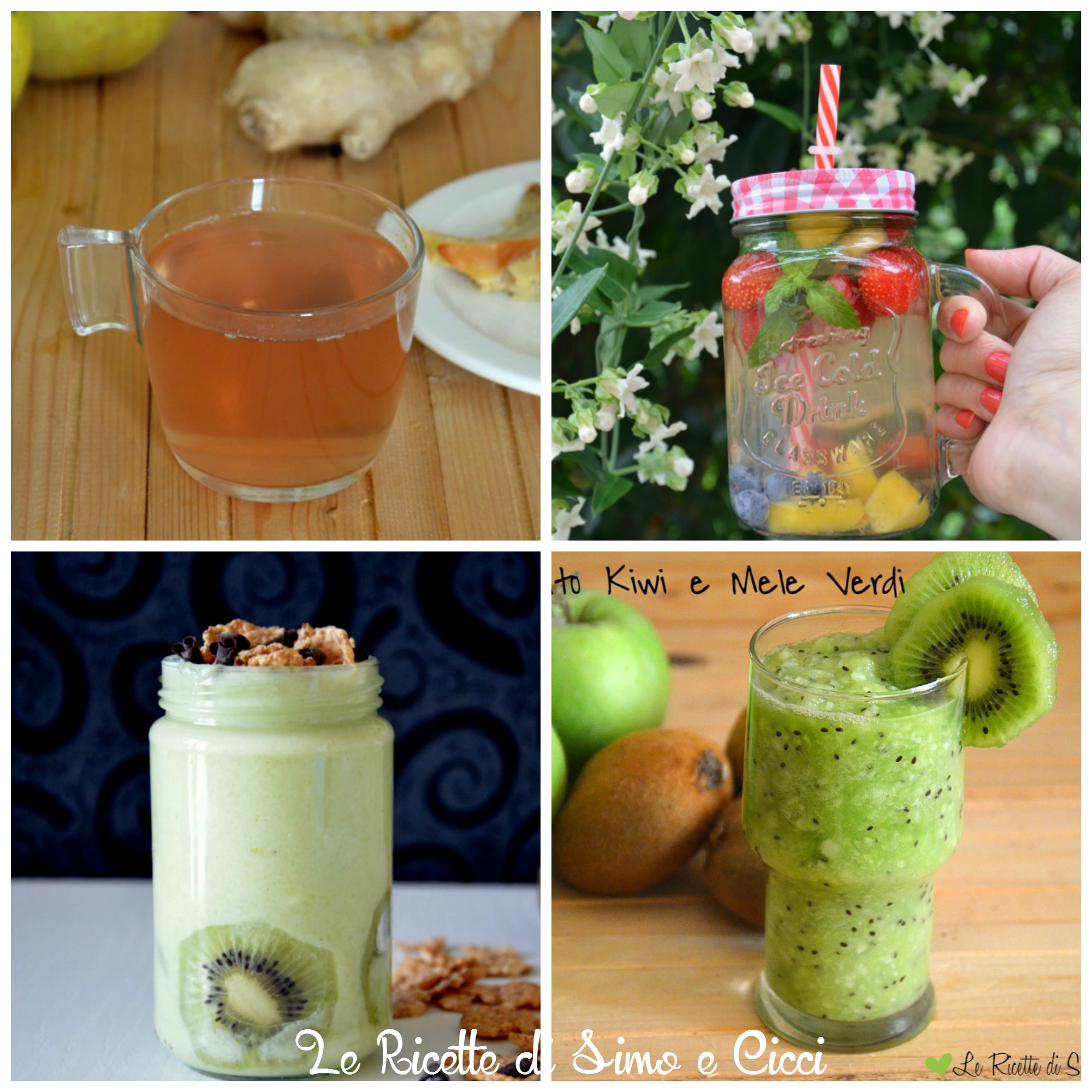 Bevande detox: 4 ricette homemade con frutta e verdura
