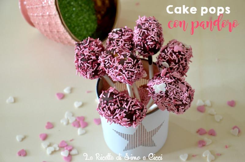Cake pops con pandoro