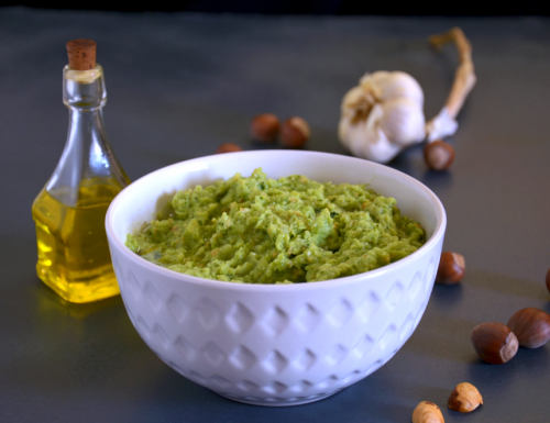 Pesto di broccoli e nocciole