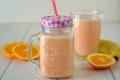 Smoothie di arancia e banana