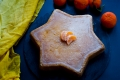 Torta stella al cocco e clementine
