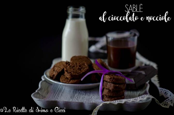 Sablè al cioccolato e nocciole