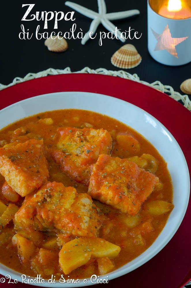 Zuppa di baccalà e patate