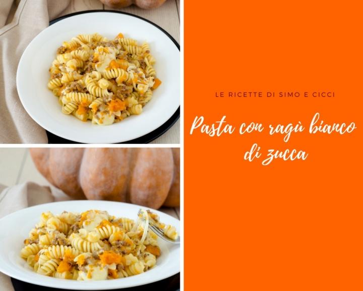 Pasta con Ragù Bianco di Zucca